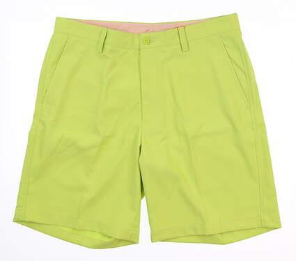 New Mens Fennec Golf Shorts 34 Green 171F600 MSRP $90