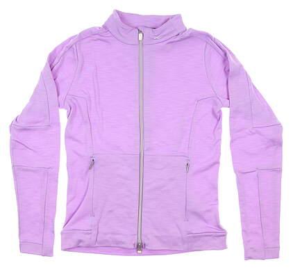 New Womens KJUS Golf Jacket Medium M Purple LG25-901 MSRP $168