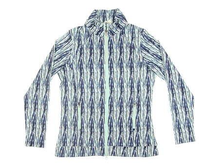 New Womens Peter Millar Golf Jacket Medium M Multi MSRP $116