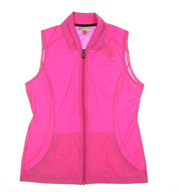 New Womens EP Pro Golf Vest Small S Pink 6140NAD MSRP $105