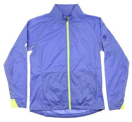 New W/ Logo Womens Sun Mountain Golf Jacket Small S Blue MSRP $100