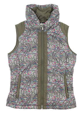 New Womens Daily Sports Golf Vest Small S Multi MSRP $165