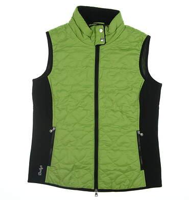 New Womens Daily Sports Golf Vest Medium M Green 763/420 MSRP $165