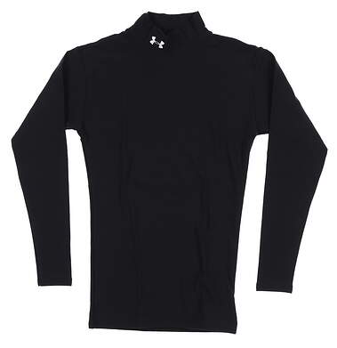 New Womens Under Armour Long Sleeve Small S Black UMO512999 MSRP $50