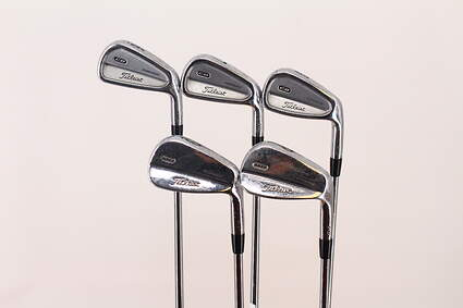 Titleist 710 CB Iron Set 6-PW Rifle Flighted 5.0 Steel Regular Right Handed 37.5 in