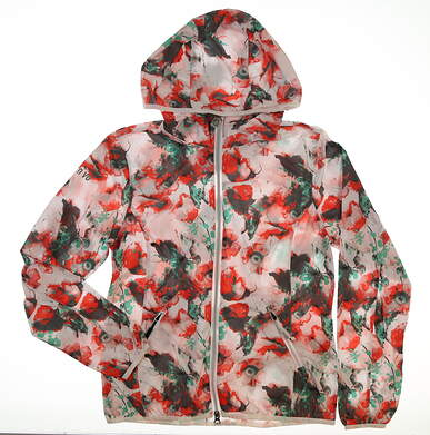 New Womens Nivo Sport Golf Jacket Small S Multi MSRP $100 NI6210702