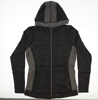 New Womens Jo Fit Revolution Jacket Small S Gray MSRP $165 UT158-CBN