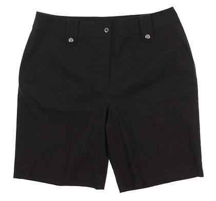 New Womens EP Pro Golf Shorts 14 Charcoal MSRP $80
