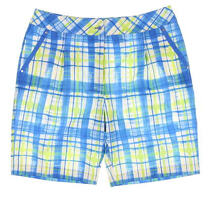New Womens EP Pro Golf Shorts 12 Multi MSRP $80