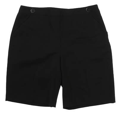 New Womens EP Pro Golf Shorts Size 14 Black MSRP $80