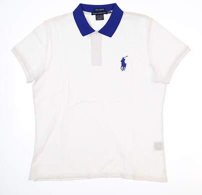 New Womens Ralph Lauren Golf Polo X-Large XL White MSRP $90