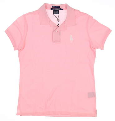 New Womens Ralph Lauren Golf Polo Small S Pink MSRP $90