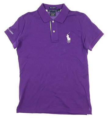 New Womens Ralph Lauren Golf Polo Small S Purple MSRP $85