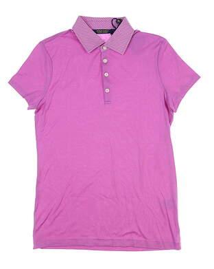 New Womens Ralph Lauren Golf Polo Medium M Pink MSRP $90