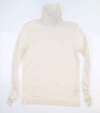 New Womens Ralph Lauren Turtleneck Medium M Marshmallow MSRP $100