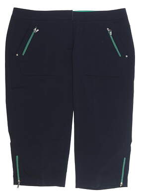 New Womens Tail Golf Capris 10 Peacoat GC4278-5045 MSRP $80