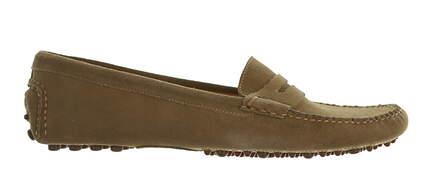 New Womens Shoe Peter Millar Suede Loafer Medium 7 MSRP $200