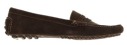 New Womens Shoe Peter Millar Suede Loafer Medium 9 Brown MSRP $200