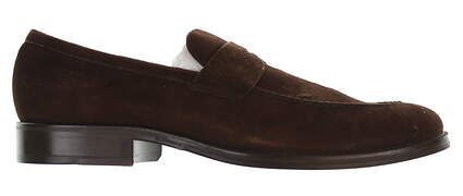 New Mens Shoe Peter Millar Suede Loafer Medium 13 Brown MSRP $300