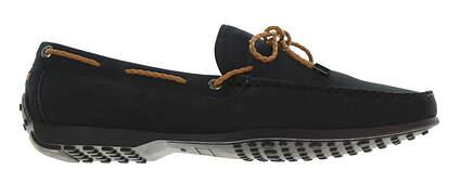 New Mens Shoe Peter Millar Loafer Medium 9.5 Blue MSRP $300