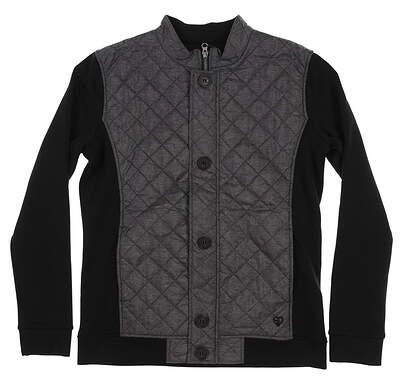 New Womens Straight Down Riley Jacket Medium M Gray/Black W60290 MSRP $152
