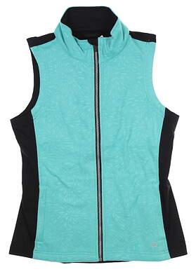 Womens Straight Down Shelby Vest Medium M Mint W10144 MSRp $90