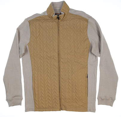New Mens Straight Down Kershaw Jacket Large L Tan 60431 MSRP $130