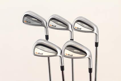 Fourteen TC-606 Forged Iron Set 6-PW Project X LZ 5.5 Steel Stiff Right Handed 37.75 in