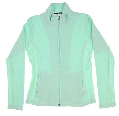 New Womens Straight Down Swing Jacket Medium M Mint W60118 MSRP $94