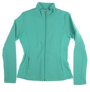 New Womens Straight Down Swing Golf Jacket Small S Green MSRP $94 W60118