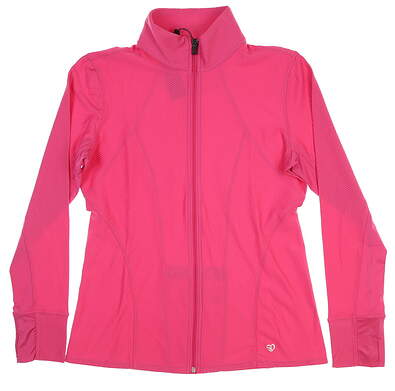 New Womens Straight Down Jacket Small S Pink