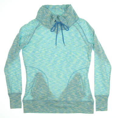 New Womens Straight Down Chloe Pullover X-Large XL Blue MSRP $96 W60294