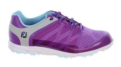 New Womens Golf Shoe Footjoy FJ Sport SL Medium 7 Purple MSRP $140