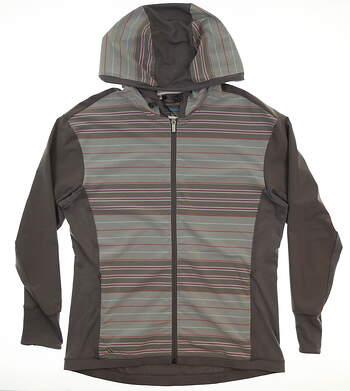 New Womens Adidas Rangewear Jacket Medium M Gray MSRP $80 AF2802
