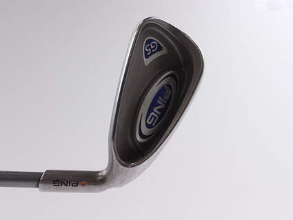 Ping G5 Single Iron 6 Iron Ping TFC 100I Graphite Senior Right Handed Orange Dot 37.25 in
