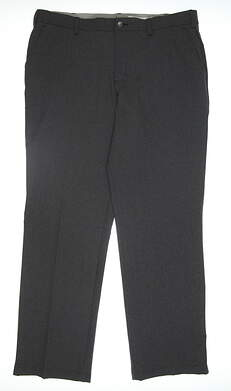 New Womens Adidas Golf Pants 38x32 Gray MSRP $70