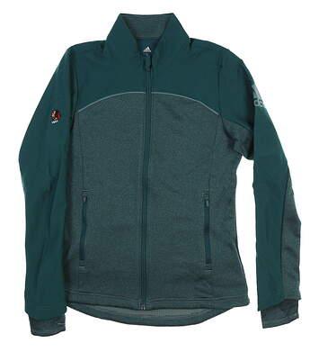 New W/ Logo Womens Adidas Adapt Jacket Small S Green CW6741