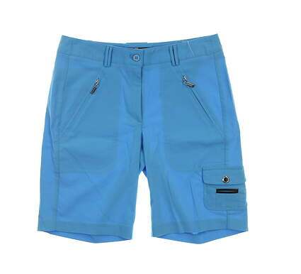 New Womens Jamie Sadock Shorts Size 2 Blue MSRP $100 62340