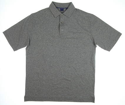 New Mens Footjoy 1857 Collection Golf Polo Large L Gray MSRP $135 25648
