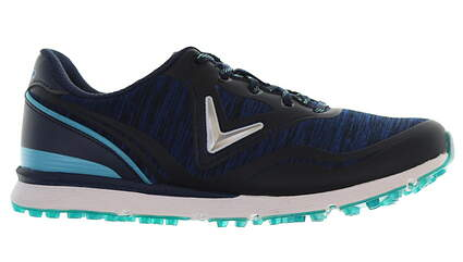 New Womens Golf Shoe Callaway Solaire Medium 10.5 Blue MSRP $95