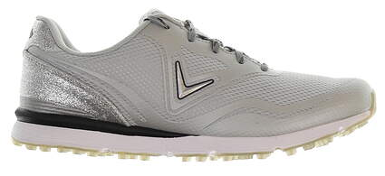 New Womens Golf Shoe Callaway Solaire Medium 6.5 Gray MSRP $95