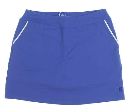 New Womens Footjoy Performance Skort Size Medium M Blue MSRP $85 23864