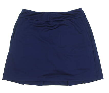 New Womens EP NY Back Pleat Pull On Skort Size X-Small XS Inky MSRP $85 NS1000