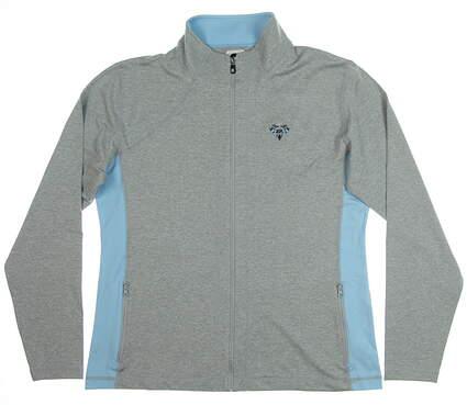 New W/ Logo Womens Footjoy Full Zip Mid Layer Large L Gray MSRP $95 27570