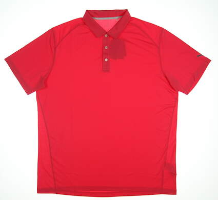 New Mens Golf Puma Polo X-Large XL Pink 570463-35 MSRP $55