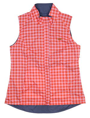 New W/ Logo Womens Peter Millar Vest Medium M Multi