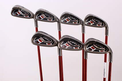 Ping G15 Iron Set 4-PW Ping TFC 149I Graphite Stiff Right Handed Black Dot 38.25 in