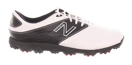 New Mens Golf Shoe New Balance Minimus LX 9 White/Black MSRP $100 NBG1002