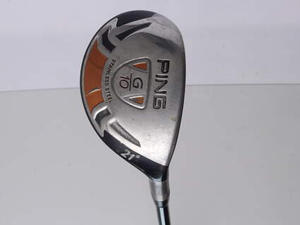 Ping G10 Hybrid 3 Hybrid 21* Grafalloy ProLaunch Red Graphite Stiff Right Handed 39.75 in