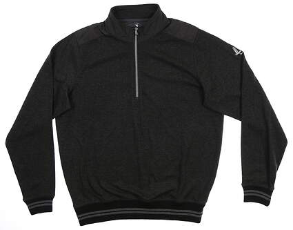 New W/ Logo Fairway & Greene 1/4 Zip Sweater MSRP $145